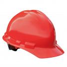 Granite Cap Style Hard Hat (Red, 6-Point Suspension)