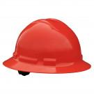 Quartz Full Brim Hard Hat (Red, 6-Point Suspension)
